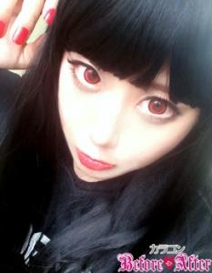 悪魔GIRLメイク01