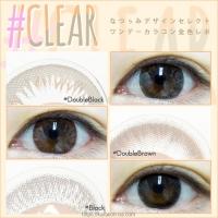 なつぅみカラコン #CLEAR 全色レポ