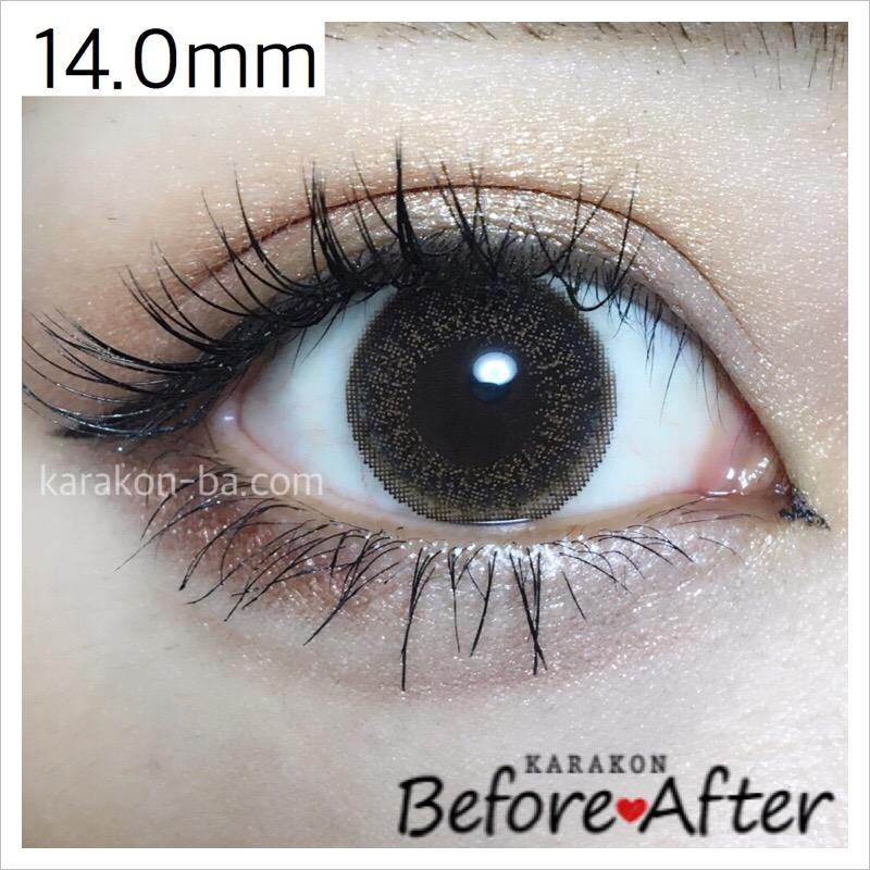 eyelist(アイリスト)ヌーディーのカラコン装着画像