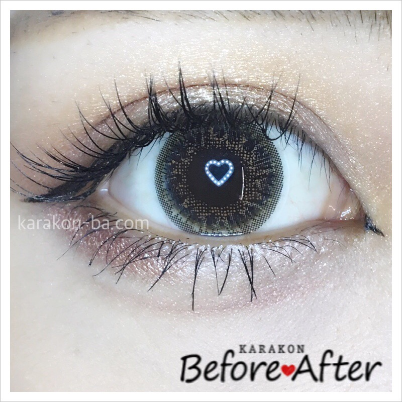 eyelist(アイリスト)シャインのカラコン装着画像/別パターン