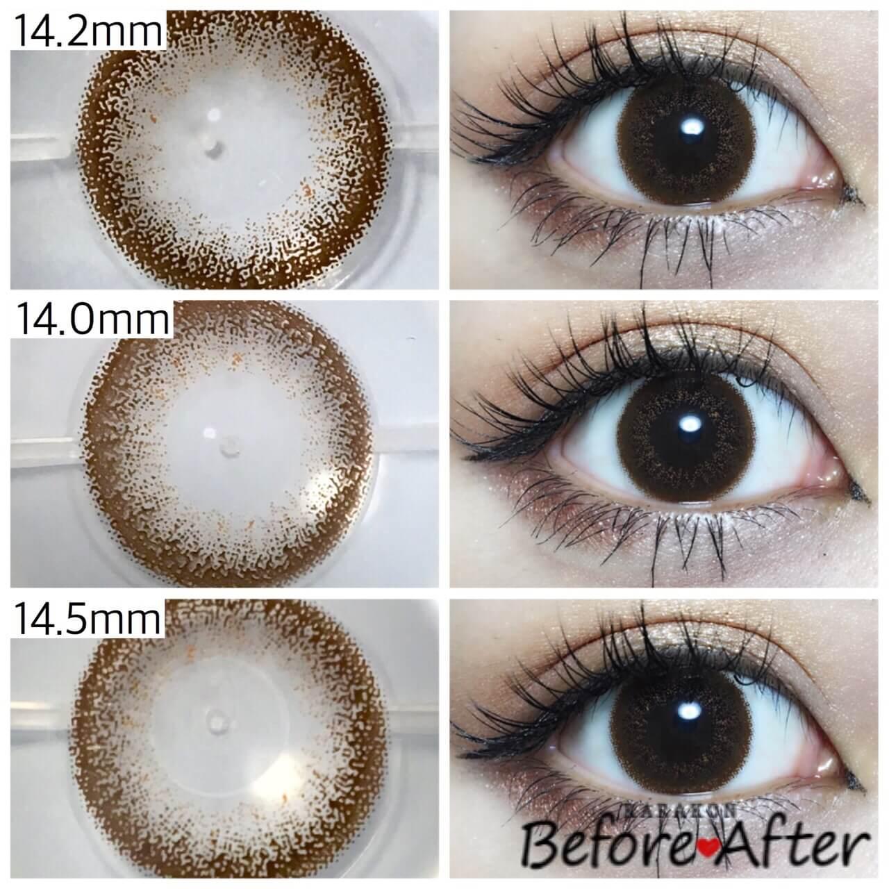 eyelist(アイリスト)チョコと似ているカラコンを比較