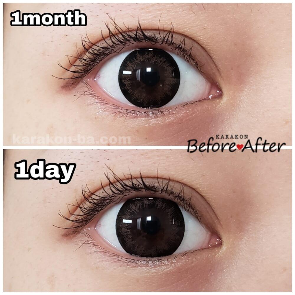 Flower Eyes(フラワーアイズ)ミモザブラウンと似ているカラコンを比較