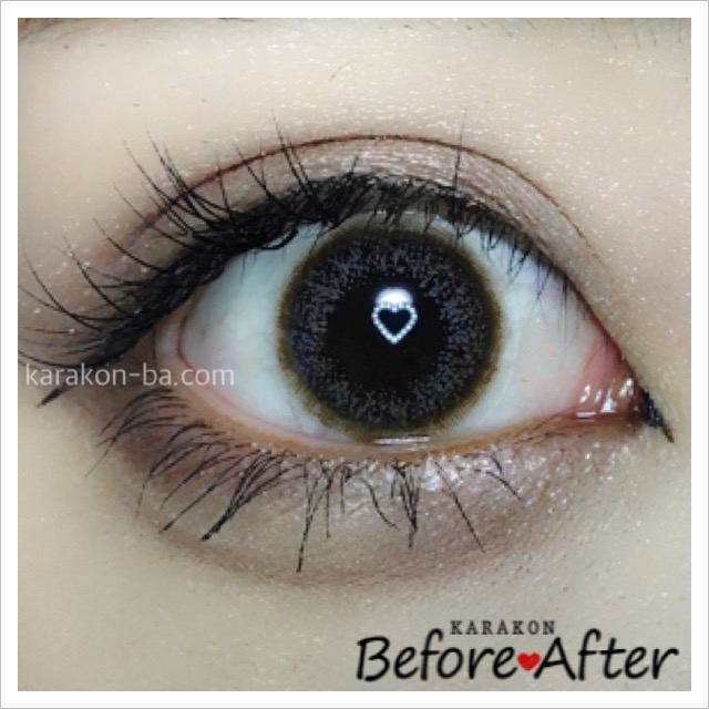 eyelist(アイリスト)ヌードのカラコン装着画像/別パターン