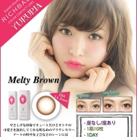 YURURIA 1day Melty Brown