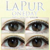 LaPur Oneday全色比較