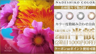 NADESHIKO COLOR(ナデシコカラー)